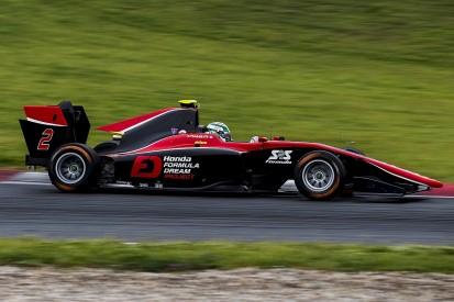 Nirei Fukuzumi leads ART one-two in Barcelona GP3 test