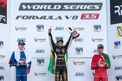 Silverstone Formula V8 3.5: Pietro Fittipaldi hangs on for win
