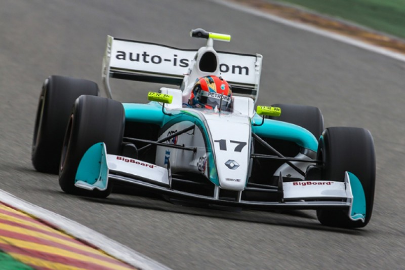 Jazeman Jaafar completes Fortec Formula Renault 3.5 switch