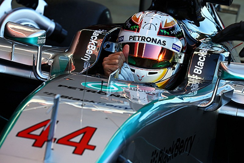 F1 champion Lewis Hamilton rejects #1 as 'irrelevant' and keeps #44