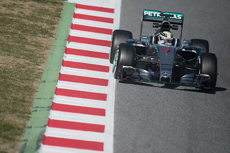 Barcelona F1 test: Mercedes tops penultimate day with Hamilton