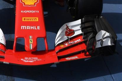 Bahrain GP: Ferrari brings new Formula 1 front wing