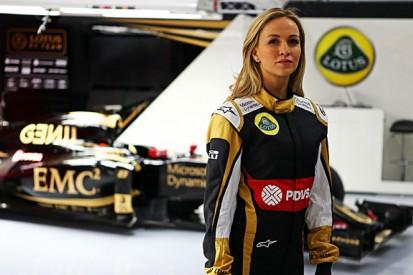 Lotus F1 team signs Carmen Jorda to development driver role
