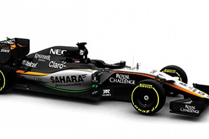 Force India reveals delayed 2015 F1 car and plans Friday test debut