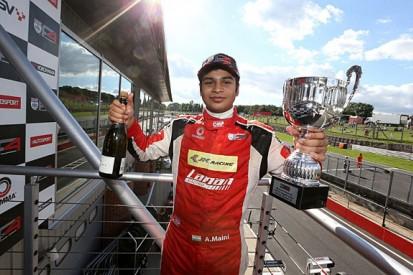 BRDC F4 runner-up Arjun Maini to race for Van Amersfoort in F3