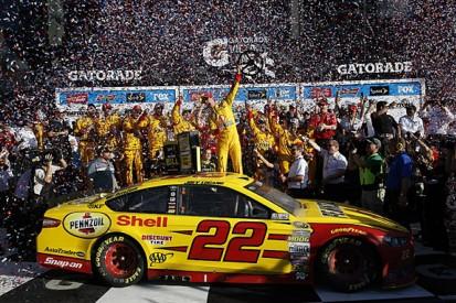 Daytona 500: Joey Logano wins under yellow flags