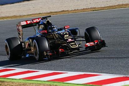 Barcelona F1 test: Romain Grosjean fastest for Lotus on day four