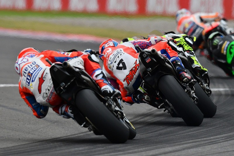 Argentinian MotoGP clash caused by Petrucci, Dovizioso believes