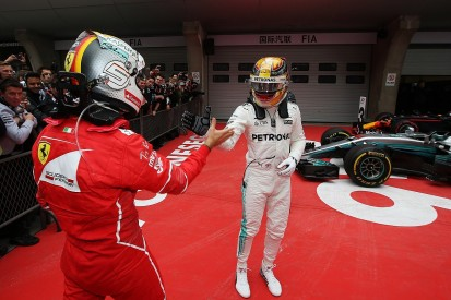 Hamilton 'chilled' until F1 rival Vettel took second in Chinese GP