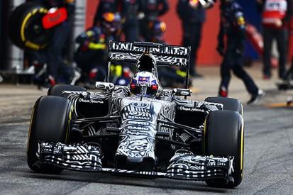 Barcelona F1 test: Daniel Ricciardo, Red Bull lead Friday morning