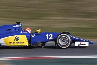 Barcelona F1 test: Felipe Nasr fastest while McLaren struggles