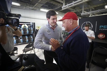 Lauda made bet with Wolff that Vettel would take Chinese GP F1 pole