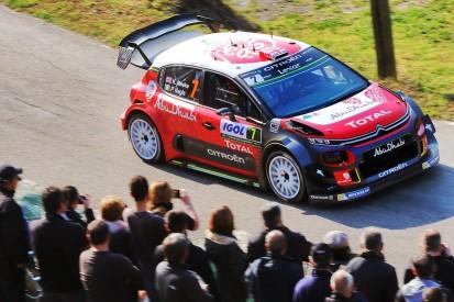 WRC Corsica: Kris Meeke leads from Sebastien Ogier