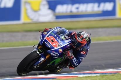MotoGP Argentina: Maverick Vinales leads practice one for Yamaha
