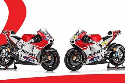 Ducati launches 2015 GP15 MotoGP bike