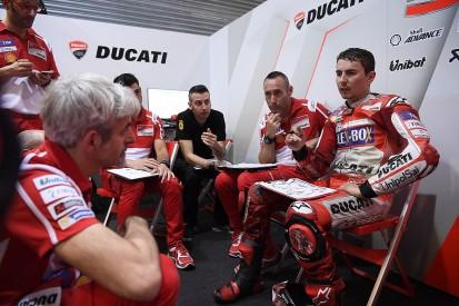 Jorge Lorenzo encouraged by Ducati's private MotoGP test