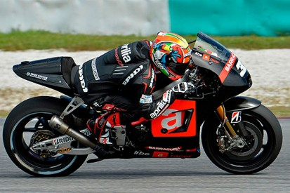 Aprilia MotoGP team wants more from struggling Marco Melandri