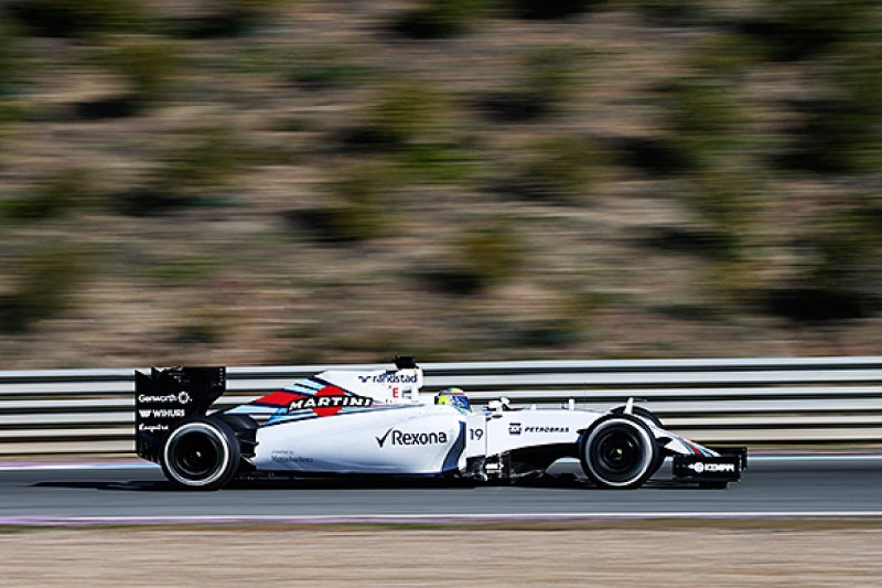Williams retains low-drag trait on its FW37 2015 Formula 1 car