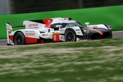 Returnee Lapierre puts Toyota on top in last Monza WEC test session
