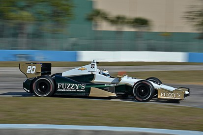 Filippi buoyed by first CFH IndyCar test, Daly runs with Schmidt