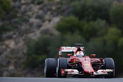 Jerez F1 test: Ferrari's Sebastian Vettel sets Monday morning pace