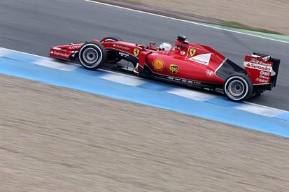 Jerez F1 test: Sebastian Vettel leads for Ferrari again on day two