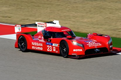 Nissan reveals front-engined GT-R LM LMP1 for 2015 Le Mans and WEC