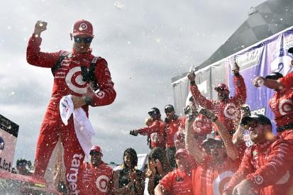Fontana NASCAR: Kyle Larson wins for Ganassi