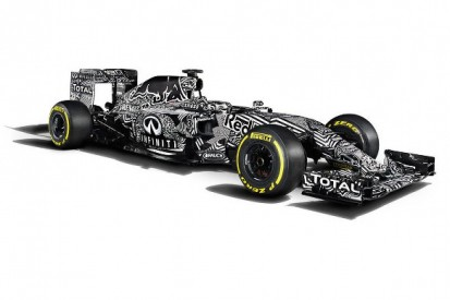 Red Bull's 2015 F1 car breaks cover in camouflage livery at Jerez