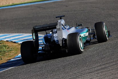 Jerez F1 test: Nico Rosberg sets commanding early pace for Mercedes