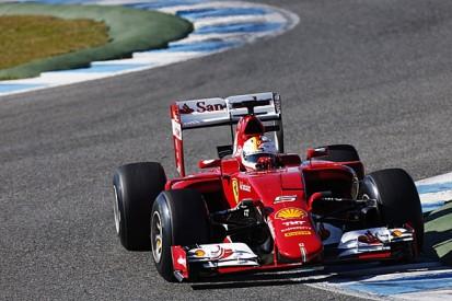Jerez F1 test: Sebastian Vettel fastest for Ferrari on first day