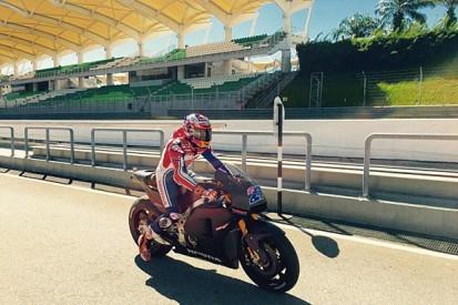 Casey Stoner continues Honda MotoGP test work at Sepang