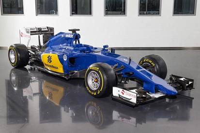 Sauber reveals new look with its 2015 C34 Formula 1 car