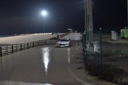 MotoGP blames poor track drainage for Qatar Grand Prix rain trouble