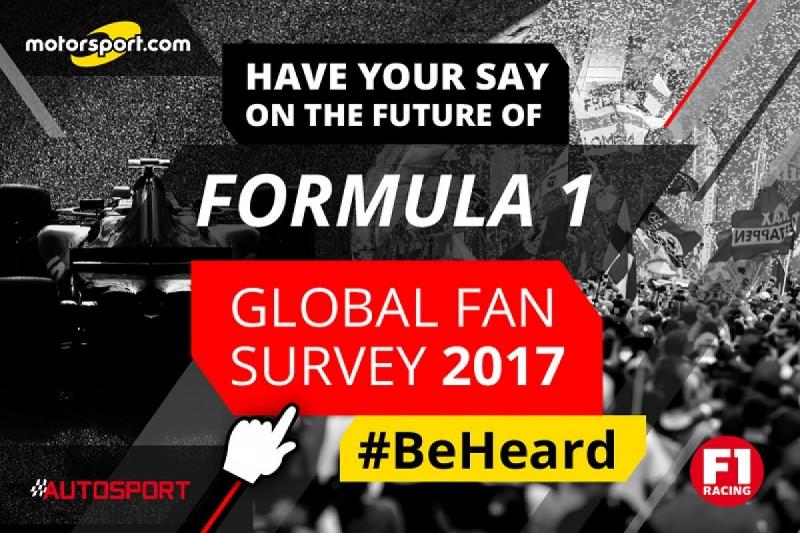 Autosport owner launches second Global Fan Survey about Formula 1