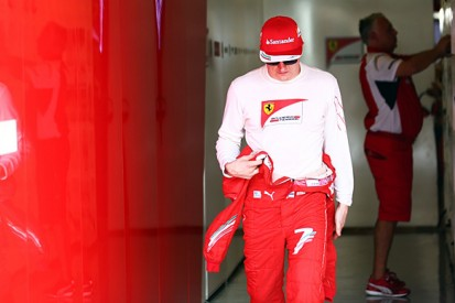 Ferrari expects its 2015 F1 car to suit Kimi Raikkonen better