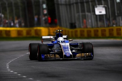 Australian GP qualifying showing surprised F1 debutant Giovinazzi