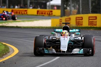 F1 Australian GP: Hamilton fastest once again in second practice