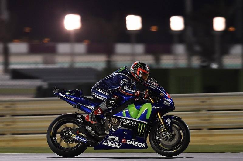Maverick Vinales starts Qatar Grand Prix MotoGP weekend on top