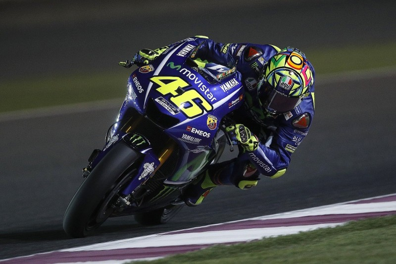 Valentino Rossi says tyre causing slow 2017 MotoGP pace not Yamaha