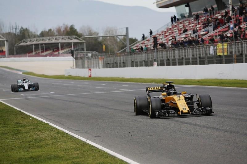 F1 races still won't be flat out despite low-deg tyres - Hulkenberg