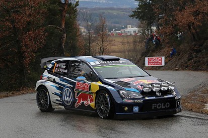 WRC Monte Carlo Rally: Ogier takes lead as Loeb damages car