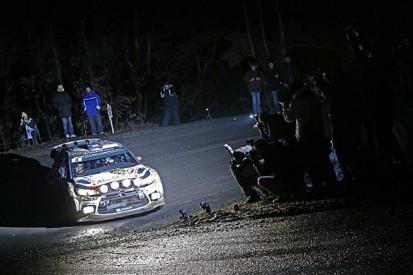 WRC Monte Carlo Rally: Sebastien Loeb leads opening night
