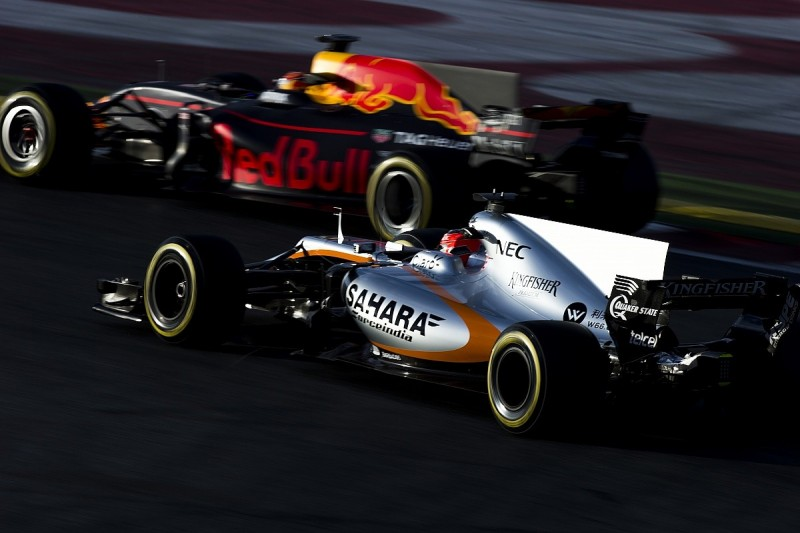 Force India says top three F1 constructors' spot is out of reach