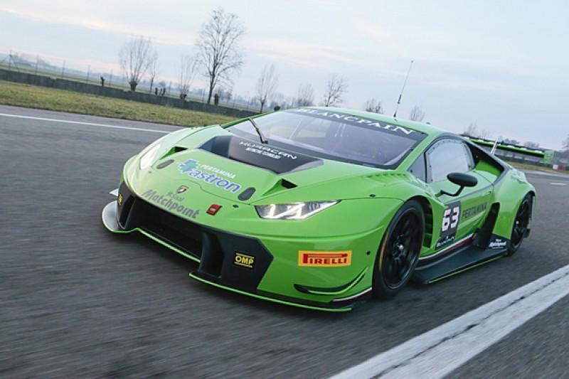 Lamborghini launches Huracan GT3 and 2015 Blancpain GT programme