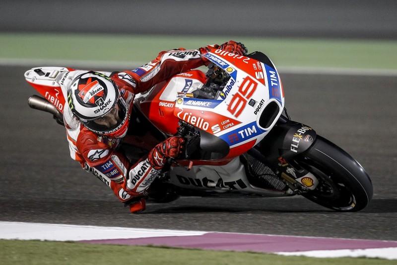 Ducati MotoGP rider Lorenzo expects to trail Dovizioso early