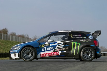 Dual World Rallycross champion Solberg launches new VW Polo for '17