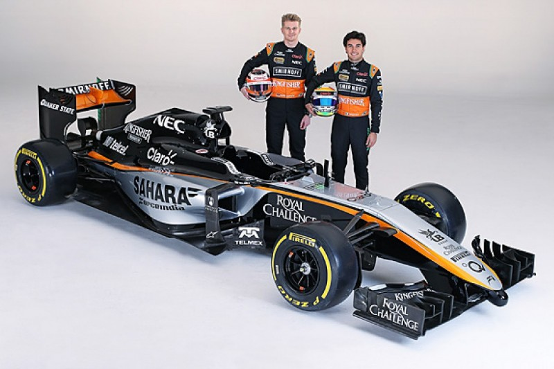 Force India F1 team reveals new 2015 colour scheme
