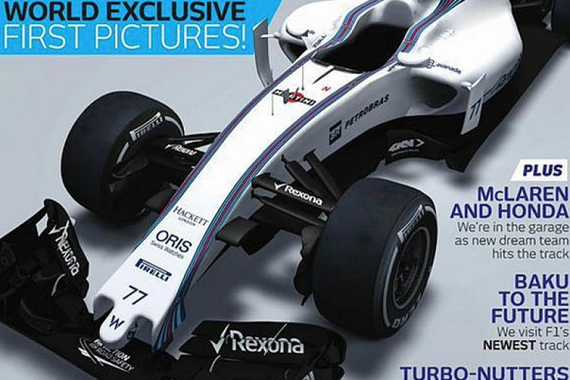 First image of 2015 Williams FW37 revealed by F1 Racing magazine