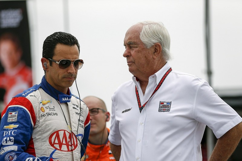 Penske sportscar return likely to include Castroneves and Montoya